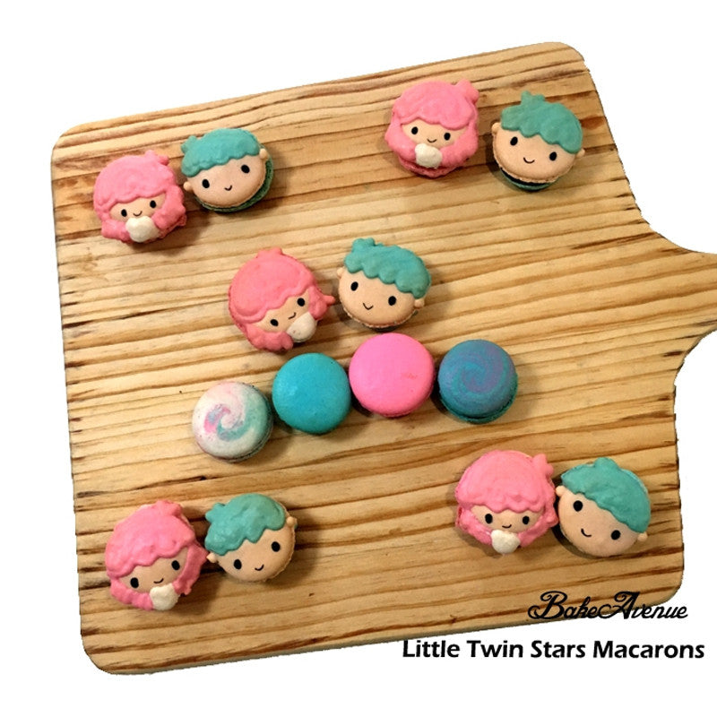 Little Twin Stars Macarons