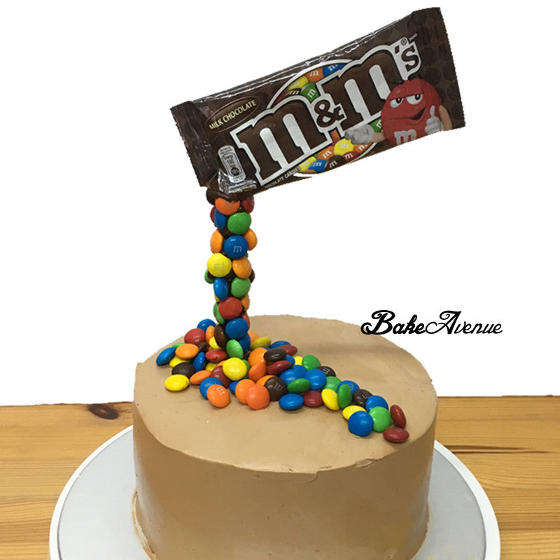Magic M&M Chocolate Cake Baking Class