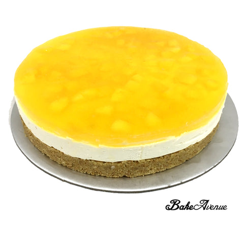 Mango Jelly Cheese Cake