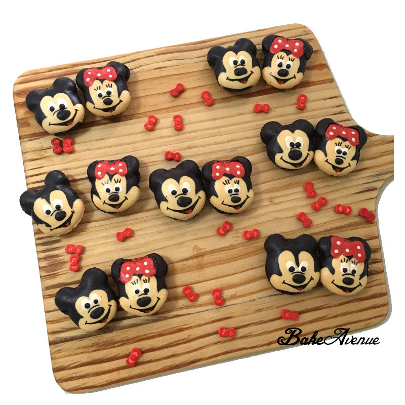 Mickey Minnie Macarons