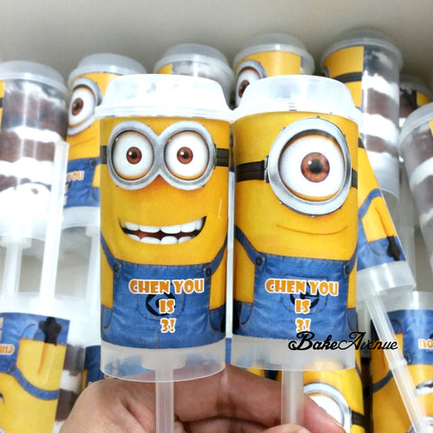 Minion Push Pops