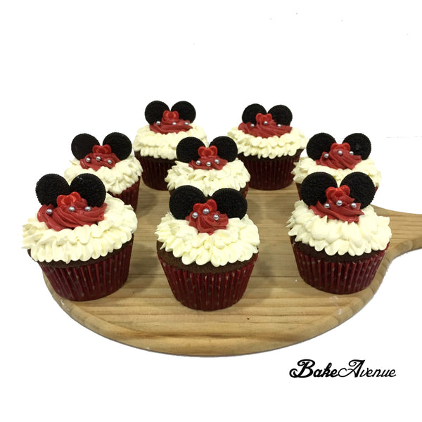 Mickey Minnie Cupcakes - Design 2