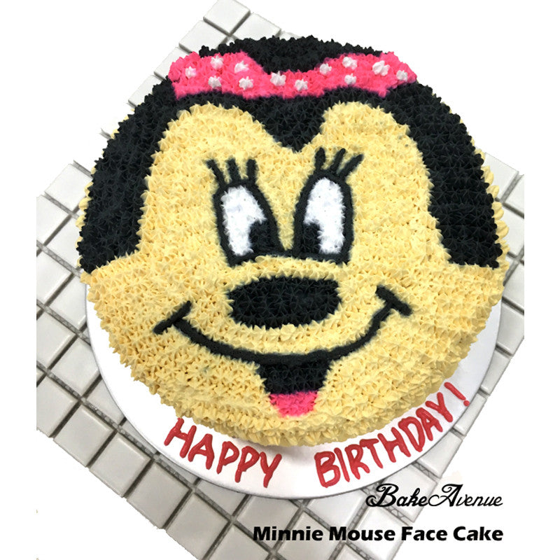 Minnie Face Cake