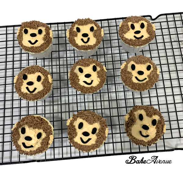 Safari Theme Cupcakes - Monkey