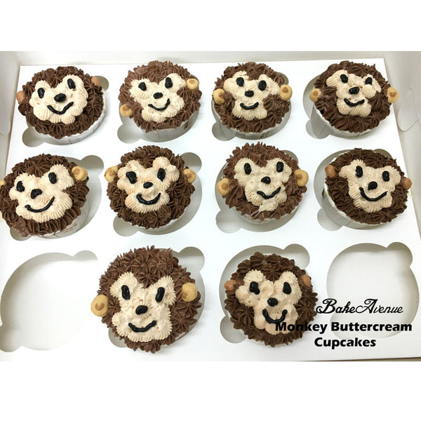 Safari Theme Cupcakes