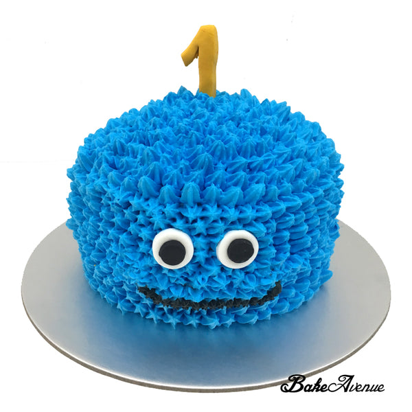 Baby Smash Cake - Monster Cake