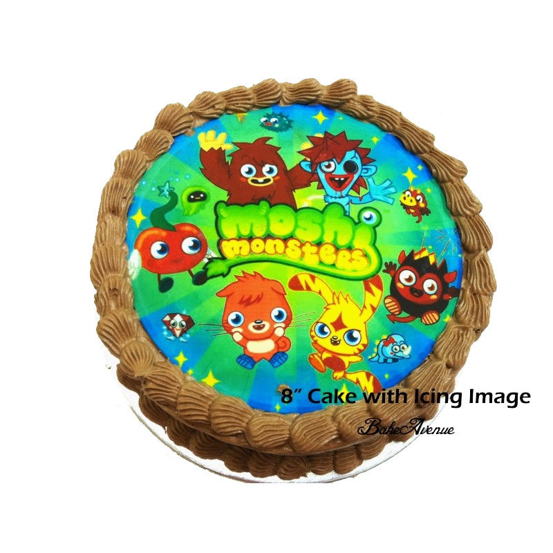 Moshi Monster Chocolate Cake
