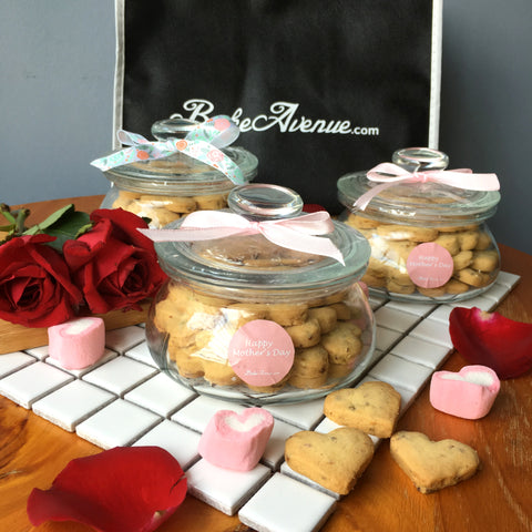 Mother's Day Special  - Rose Pistachio & Earl Grey Tea Cookies (Jars) @ $25.80