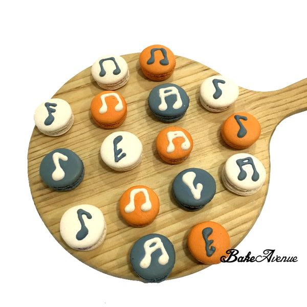 Musical Notes Macarons