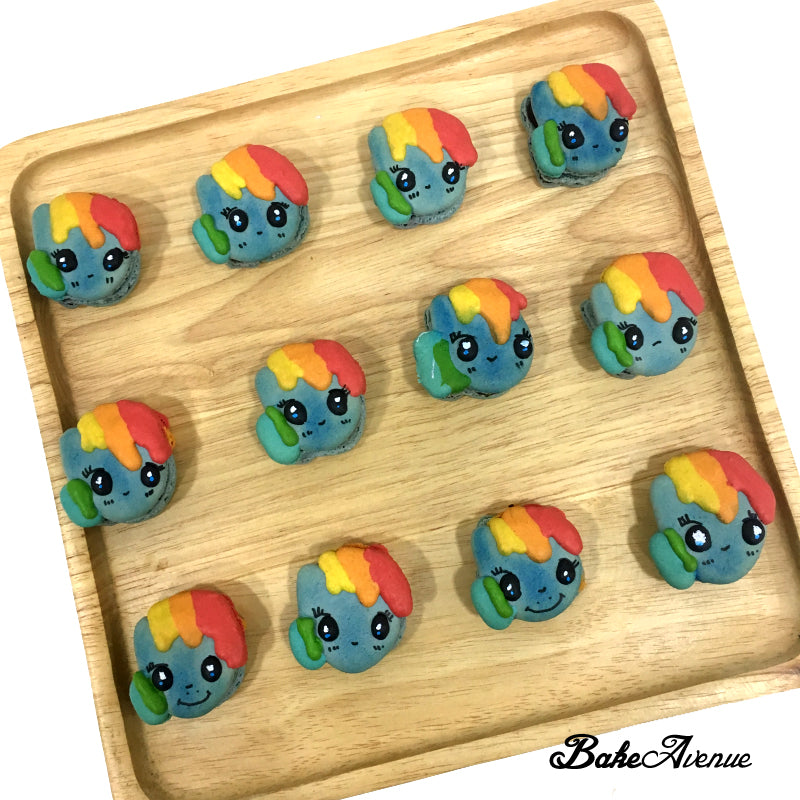 My Little Pony Face Macarons