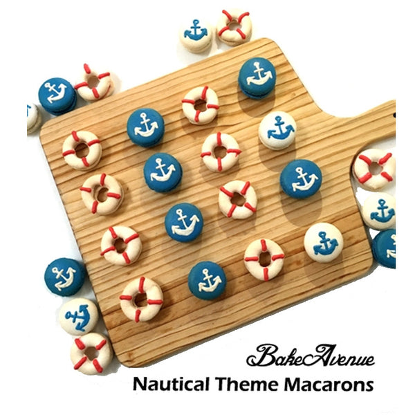 Nautical Macarons