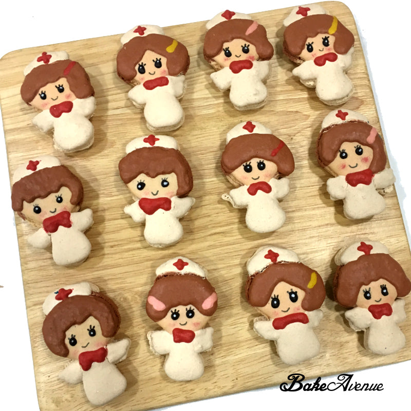 Nurse with wings Macarons