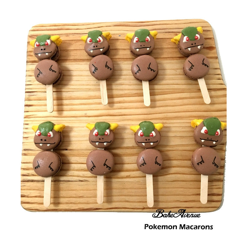 Pokemon - Kangaskhan (Full Body) Macarons