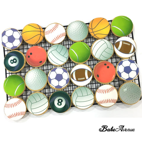 Sports Theme Cookies