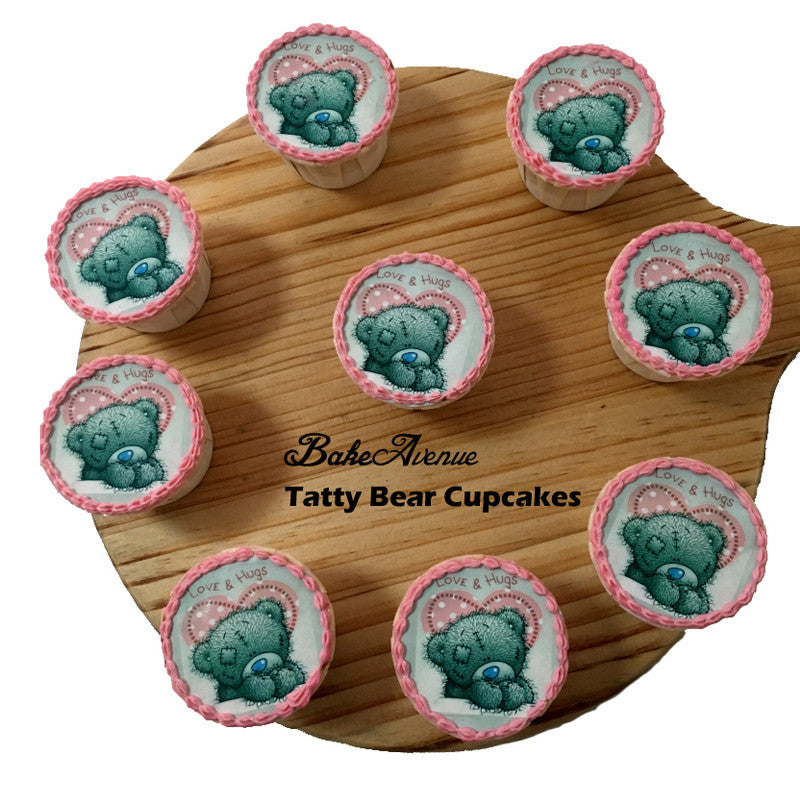 Tatty Bear Cupcakes