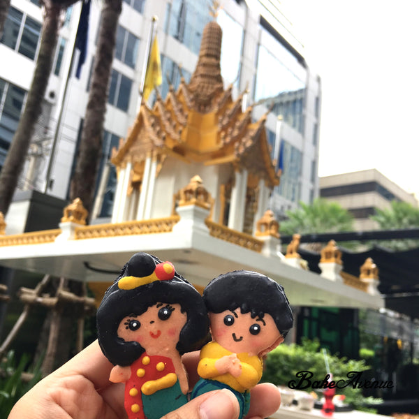 Country Icon (Thailand) Macarons