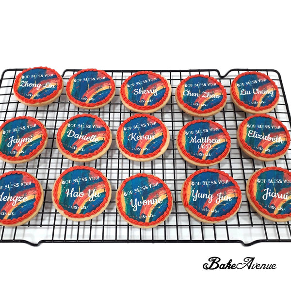 Name Customised Cookies (icing image)