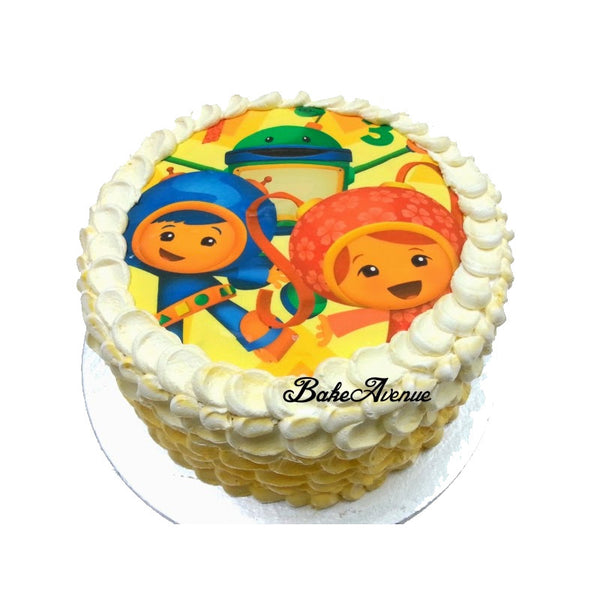 Umizoomi ombre cake
