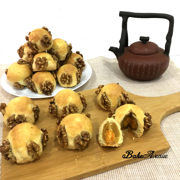 Mid-Autumn Special - Walnut & Cheese Mooncake Baking Class