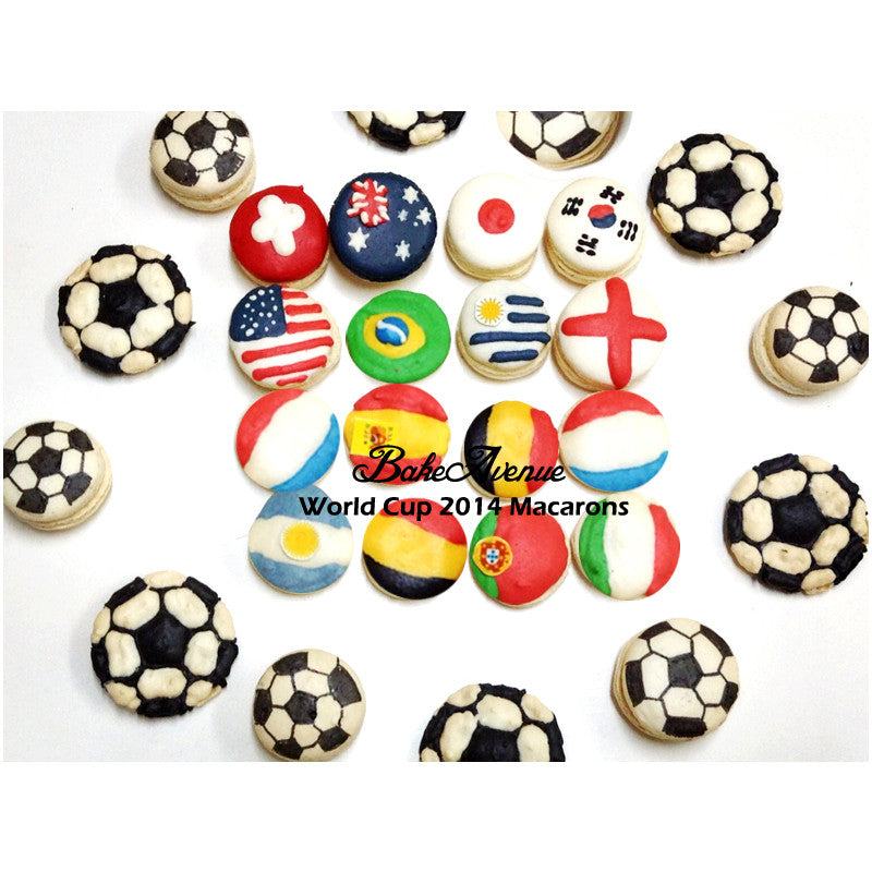 Sports - World Cup Macarons