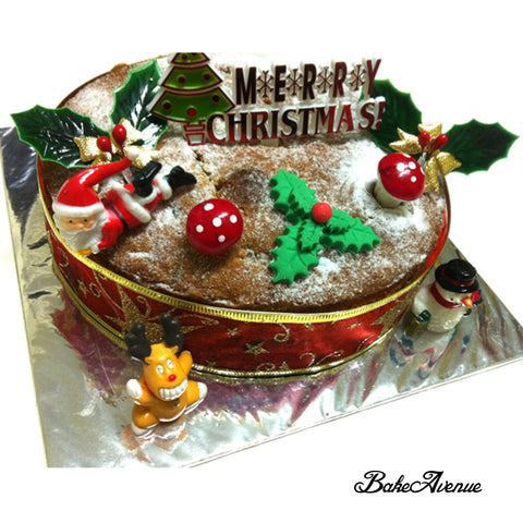 Christmas Cake - Christmas Traditional Fruit Cake
