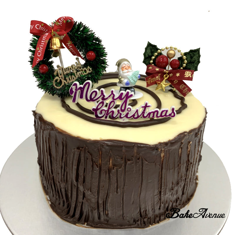 Christmas Cake - Stump Cake