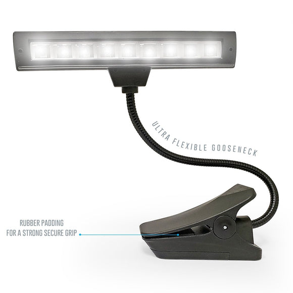 AxcessAbles Orchestra Clip-on LED Music Stand Lamp