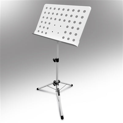 AxcessAbles SM501-W Orchestra Sheet Music Stand (White)