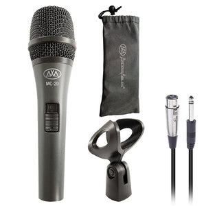AxcessAbles MC-20 Dynamic Wired Vocal Microphone