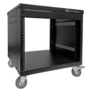 AxcessAbles RK8U 8-Space Rolling A/V Rack