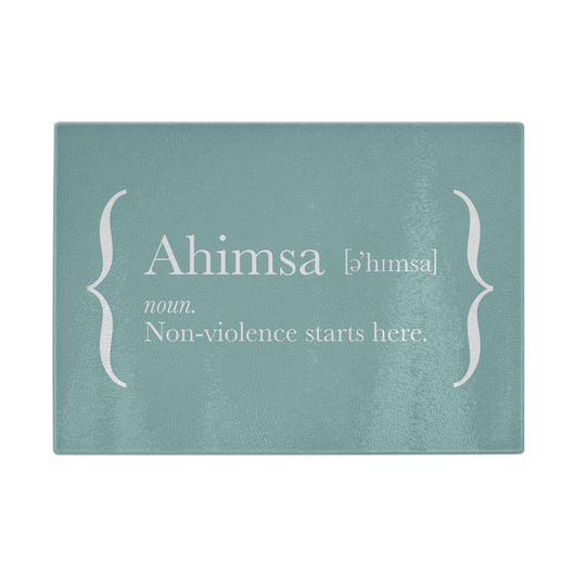 Ahimsa Chopping Board (Green)