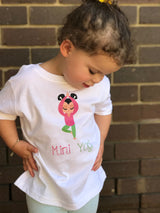 Mini Yogi Girl Tree Toddler T-Shirt
