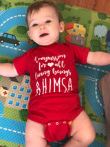 Compassion & Love Baby Onesie