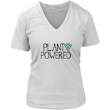 Plant Powered Ladies V Neck