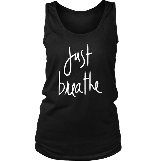 Just Breathe Ladies Tank