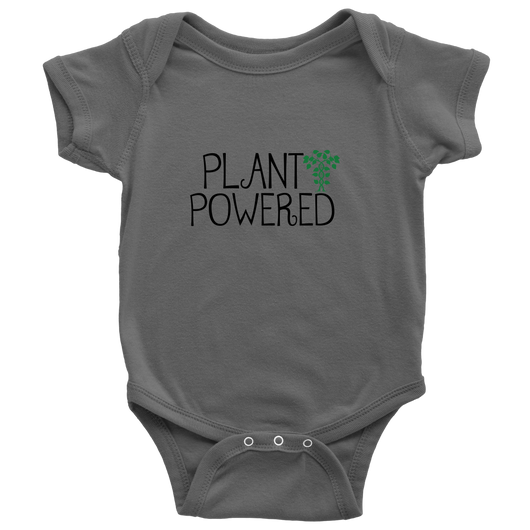 Plant Powered Baby Onesie