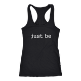 Just Be Ladies Racerback Tank
