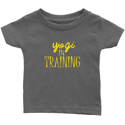 Yogi in Training (Yellow) Infant T-Shirt