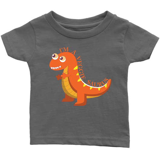 Veggie Saurus Infant T-Shirt