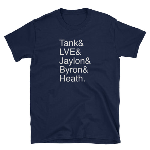 Tank & LVE & Defense Unisex T-Shirt