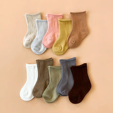 Load image into Gallery viewer, Pastel Ribbed Socks