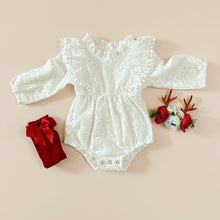 Load image into Gallery viewer, Pompom&Lace Romper