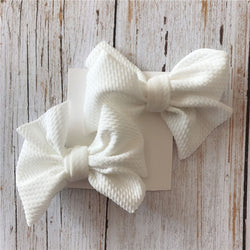 Waffle Bows-Set of Two