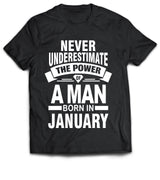 January Man T-shirt
