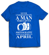 April Photographer T-shirt