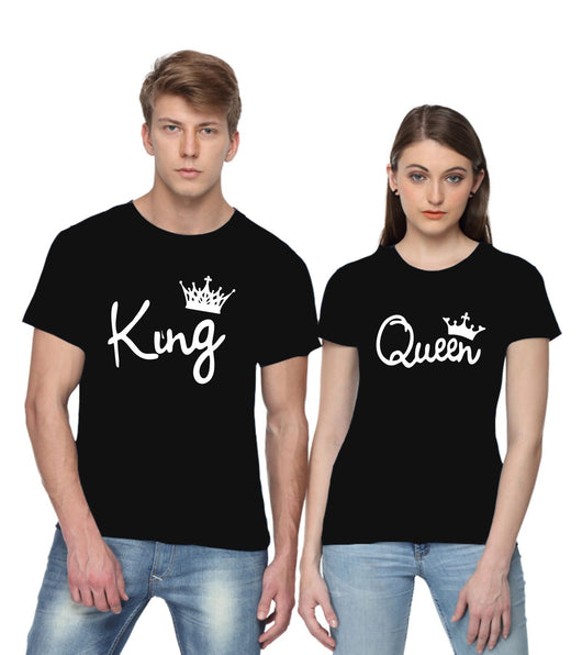 King and Queen Couple T-shirts