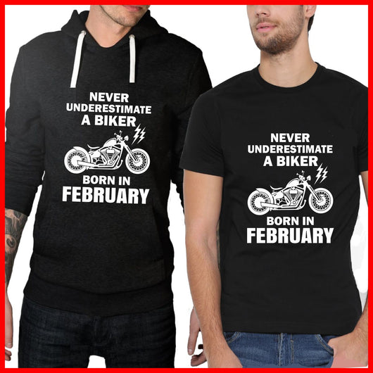 February Biker Hoodie and T-shirt Pack