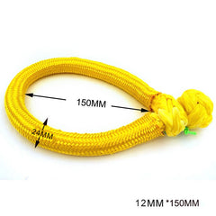 12mm*150mm UHMWPE Fiber Braided Soft Shackle