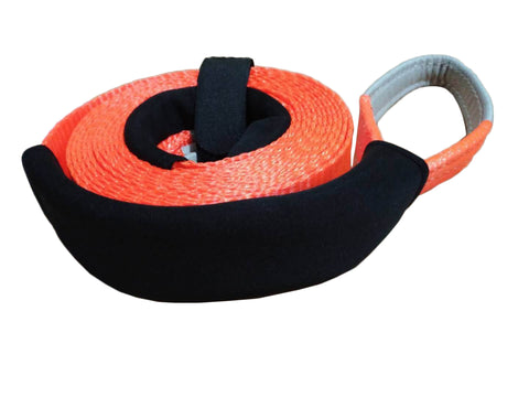 Car Polyester Tow Strap Snatch Strap Recovery Strap for Towing Recovery