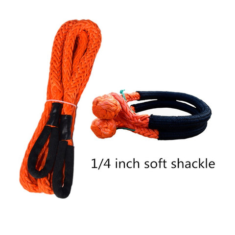 QIQU Car Towing Rope to replace tow strap for ATV UTV Car Vehicle Recovery Towing
